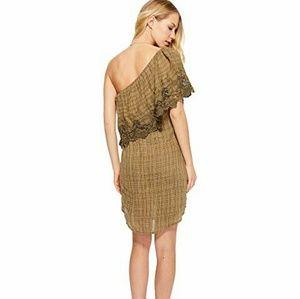 O'Neill Dresses - 🔥 O'Neil Eryn One-Shoulder Lace Gauze Dress NWOT